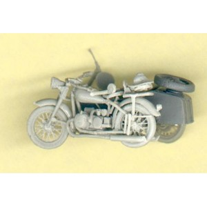 OURAL IRBIT + SIDE CAR (RUSSIAN W.W.II BIKE)