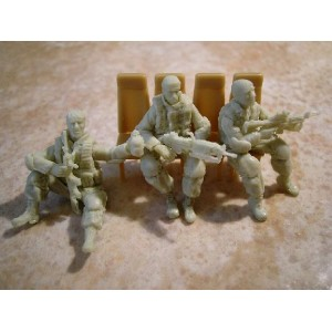481124 US MODERN GI SEATED FOR CHOPPER set 1 (3Figs.)