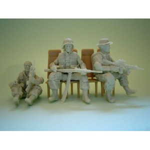 481125 US MODERN GI SEATED FOR CHOPPER set 2 (3Figs.)
