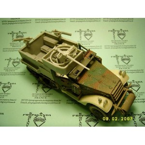 Hull M2A1 for HT M3 CORGI