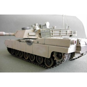 WHEELS & TRACKS FOR M1A2 Abrams ARII / AOSHIMA